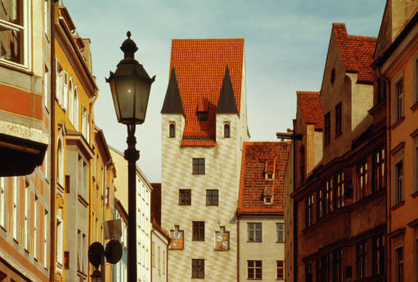 Town Square Wall Art - Photograph - Traditional Old Buildings Near by Harald Sund
