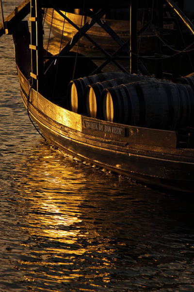 Douro Wall Art - Photograph - Traditional  Rabelos Boats On River by Larry Bray