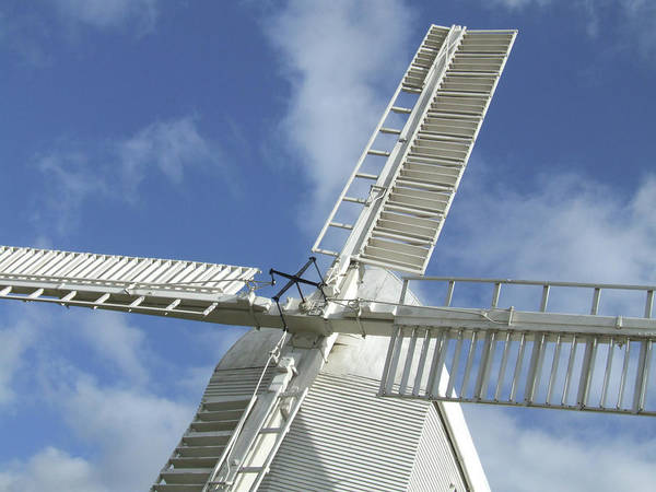 Photograph - Traditional Windmill by Helen Northcott