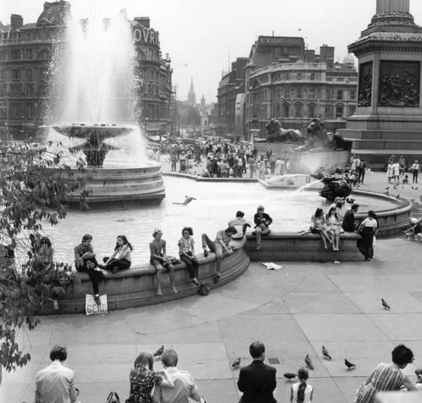Trafalgar Photograph - Trafalgar Square by Fred Mott