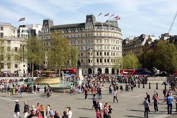 Photograph - Trafalgar Square, London by Aidan Moran