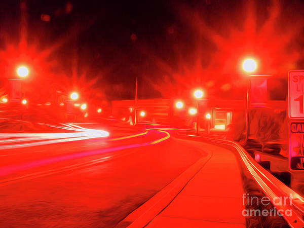 Wall Art - Digital Art - Traffic Lights 21 by Chris Taggart