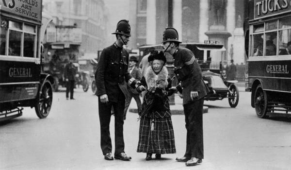 Police Force Photograph - Traffic Police by Hulton Archive