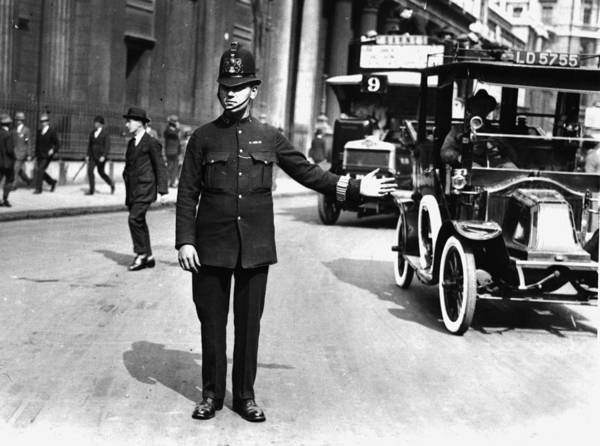 Service Photograph - Traffic Police by Hulton Collection