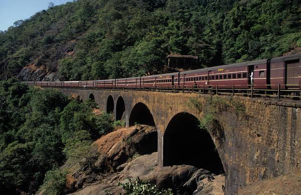 Goa Photograph - Train by David Cayless