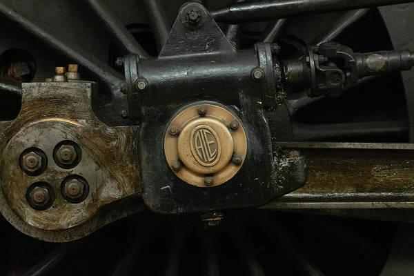 Photograph - Train Piston by Scott Lyons