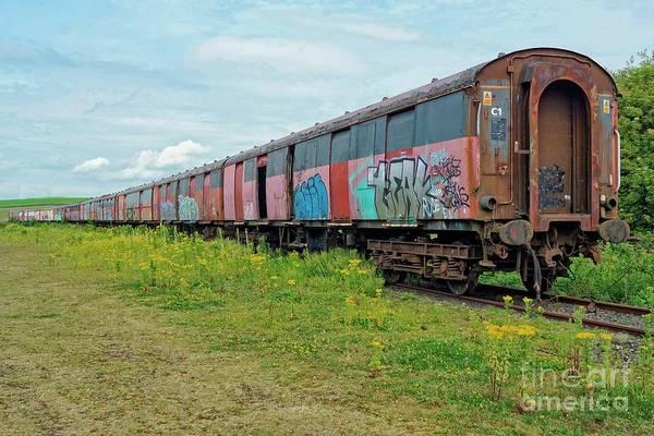 Wall Art - Photograph - Train To Nowhere. by David Birchall