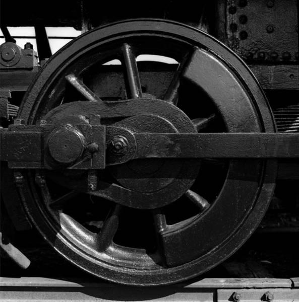 Wall Art - Photograph - Train Wheel by Robert Natkin