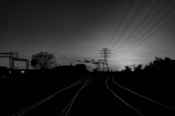 Photograph - Traintracks by Joseph Amaral