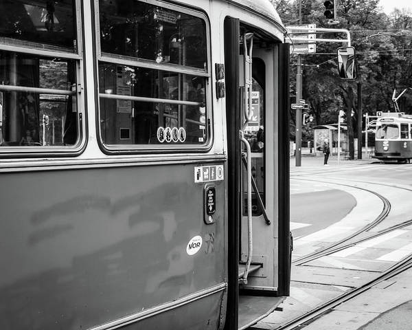 Photograph - Tramway by Borja Robles