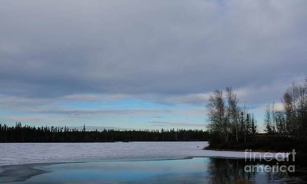 Photograph - Tranquil Arctic River by Suzanne Lorenz