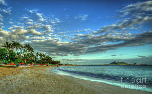 Ohau Wall Art - Photograph - Tranquil Lanikai Beach Sunrise Oahu Hawaii Collection Art by Reid Callaway