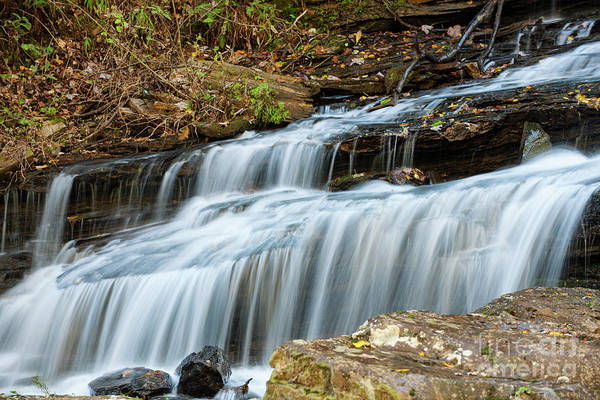 Photograph - Tranquil Water Fall Sounds by Dale Powell