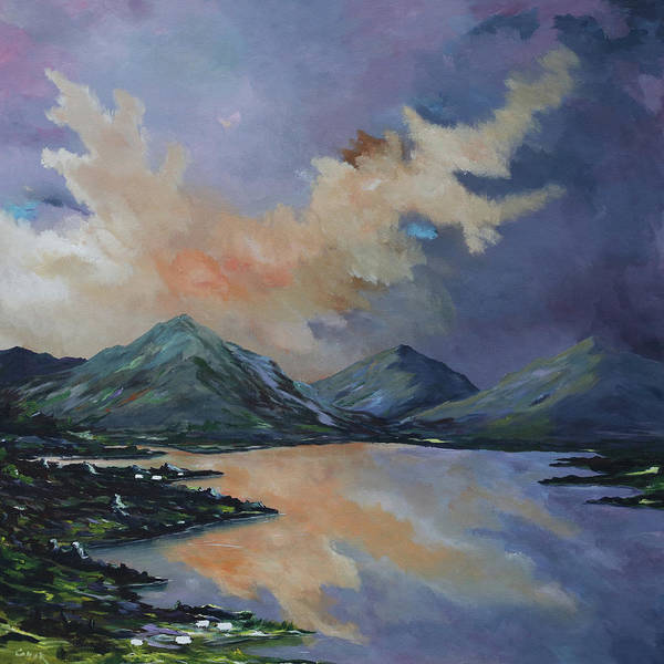Painting - Tranquility In Killarney  Kerry by Conor Murphy
