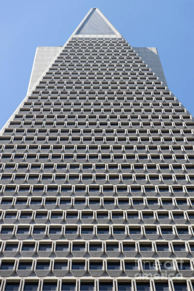 Photograph - Transamerica Pyramid In San Francisco Abstract Geometry Details R731 by Wingsdomain Art and Photography