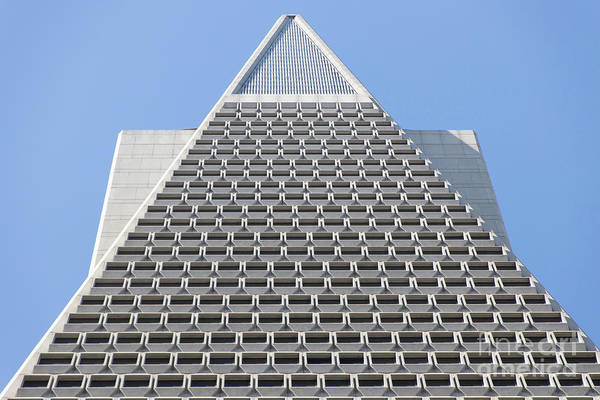 Photograph - Transamerica Pyramid In San Francisco Abstract Geometry Details R732 by Wingsdomain Art and Photography