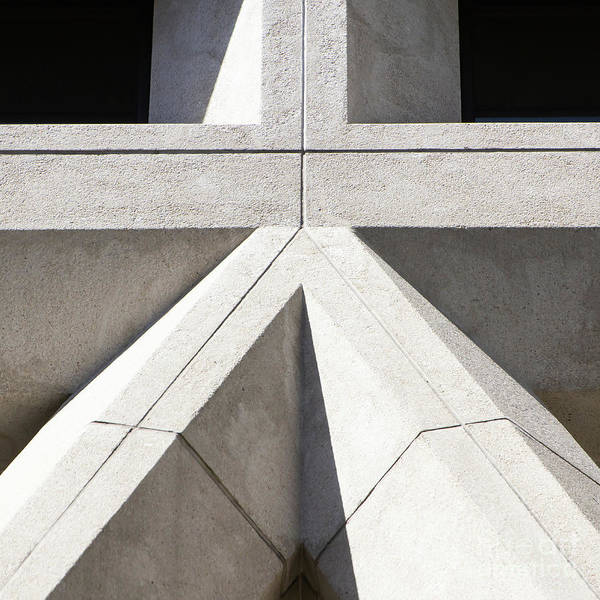 Photograph - Transamerica Pyramid In San Francisco Abstract Geometry Details R733 Sq by Wingsdomain Art and Photography