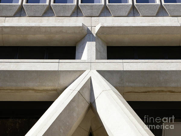 Photograph - Transamerica Pyramid In San Francisco Abstract Geometry Details R734 by Wingsdomain Art and Photography