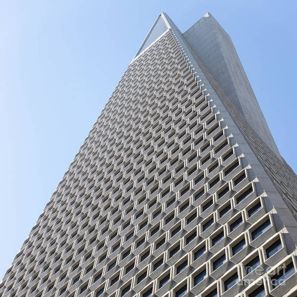 Wall Art - Photograph - Transamerica Pyramid San Francisco R740 Sq by Wingsdomain Art and Photography