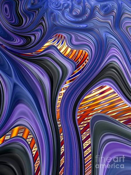 Fall Colors Digital Art - Transfusion by John Edwards