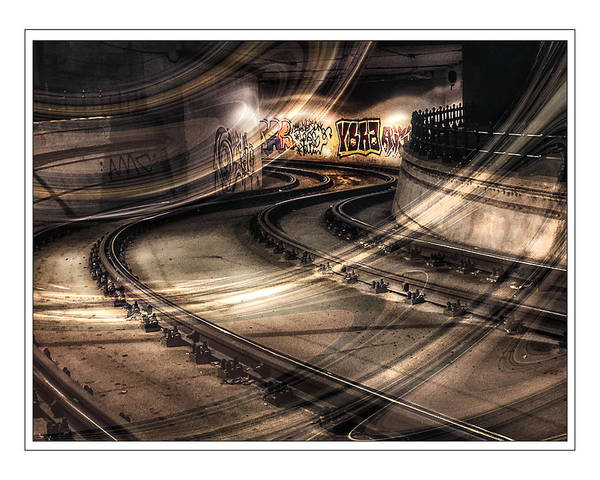 Wall Art - Photograph - Transit Tunnel In Budapest by Peggy Dietz