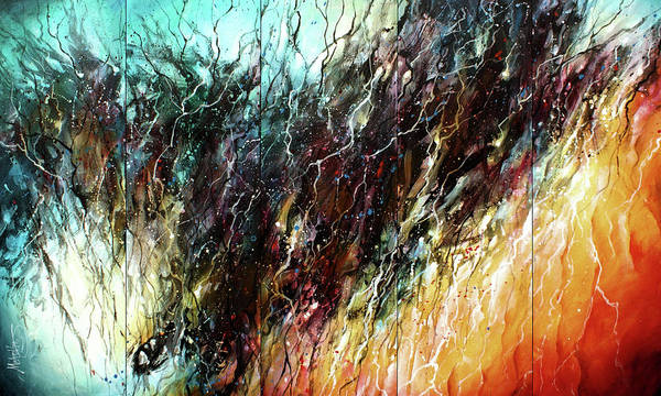 Wall Art - Painting -  Transition by Michael Lang