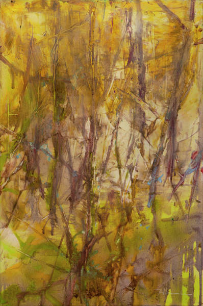 Wall Art - Painting - Transparent Spring by Renee Heinecke