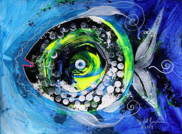 Painting - Transsexual Echo Fish by J Vincent Scarpace