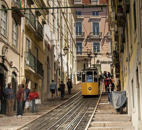 Photograph - Tranvia De Lisboa by Juan Contreras