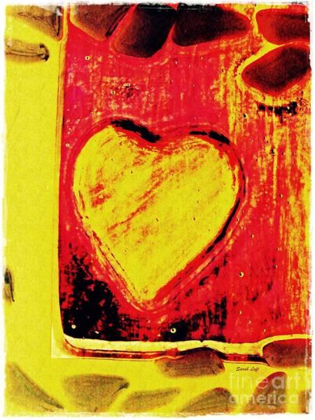 Wall Art - Digital Art - Trapped Heart by Sarah Loft