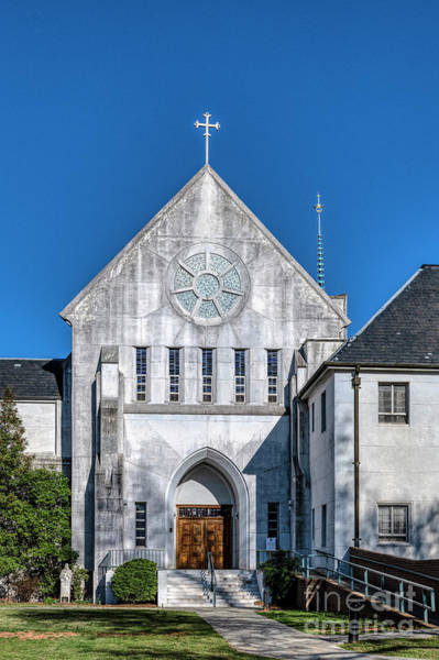 Conyers Photograph - Trappist Monastery Of The Holy Spirit  by John Greim