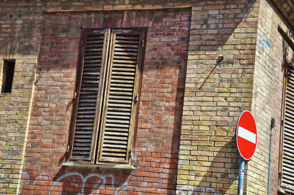 Photograph - Trastevere Shutters by JAMART Photography