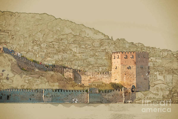 Wall Art - Digital Art - Travel Background In Vector Format by Romas photo