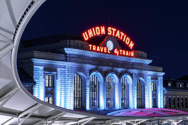 Wall Art - Photograph - Travel By Train - Denver Union Station #2 by Stephen Stookey