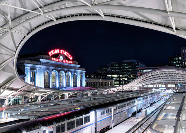 Wall Art - Photograph - Travel By Train - Union Station Denver #2 by Stephen Stookey