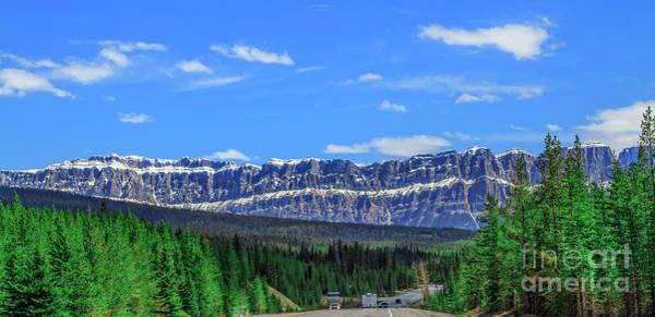 Wall Art - Photograph -  Traveling  Kootenay National Park. by Robert Bales