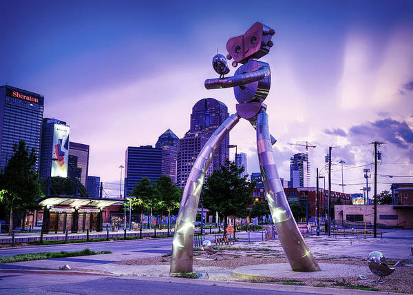 Photograph - Traveling Man Dallas 070219 by Rospotte Photography