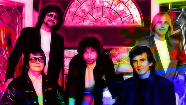 Wall Art - Mixed Media - Traveling Wilburys by Marvin Blaine