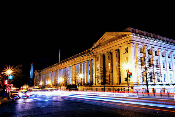 Photograph - Treasury Building by Travis Rogers