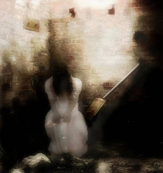 Depressed Digital Art - Treated Like Trash by Gun Legler