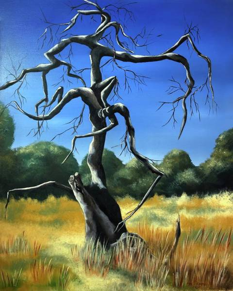 Painting - Tree 3 by Mary Rimmell