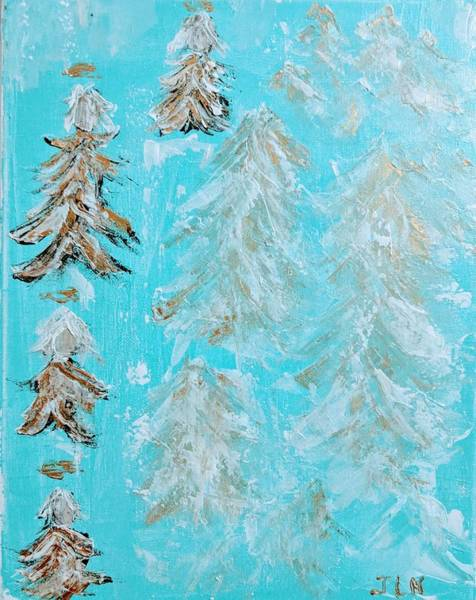 Painting - Tree Angels by Jennifer Nease