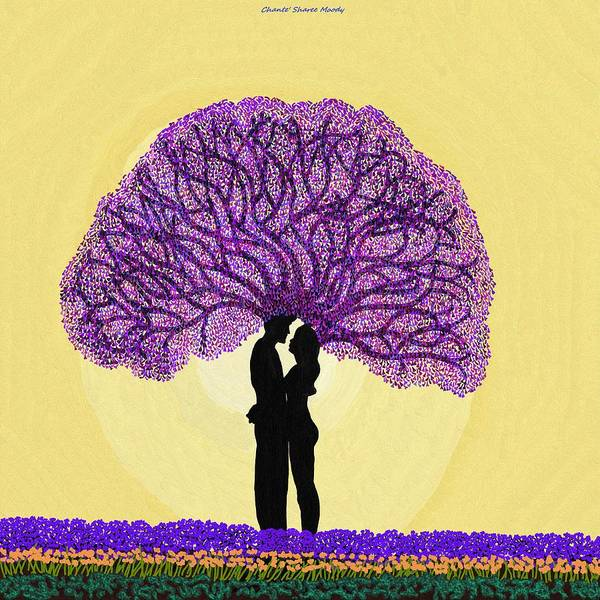 Wall Art - Digital Art - Tree Love by Chante Moody
