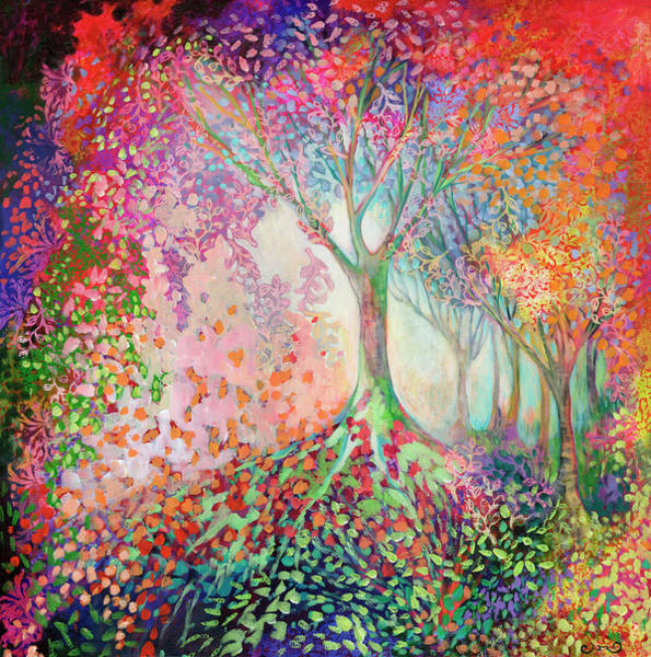 Wall Art - Painting - Tree Of Celebration by Jennifer Lommers