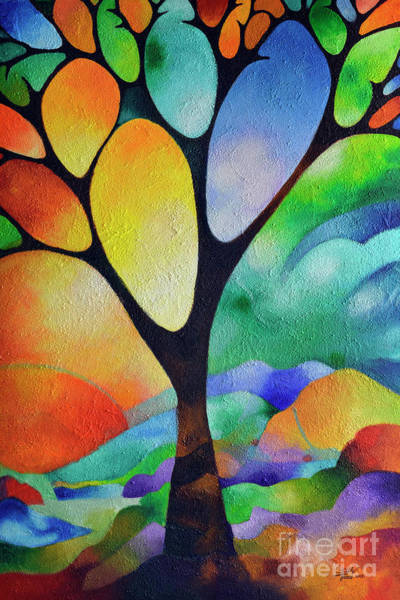 Painting - Tree Of Joy by Sally Trace