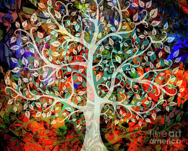 Digital Art - Tree Of Knowledge by Edmund Nagele