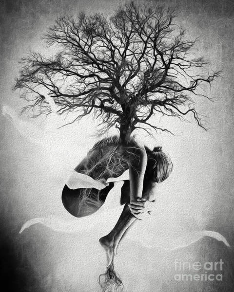 Tree Face Photograph - Tree Of Life by Erik Brede