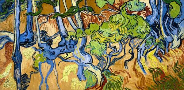 Wall Art - Painting - Tree Roots - Digital Remastered Edition by Vincent van Gogh