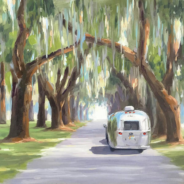 Tree Tunnel Art Print