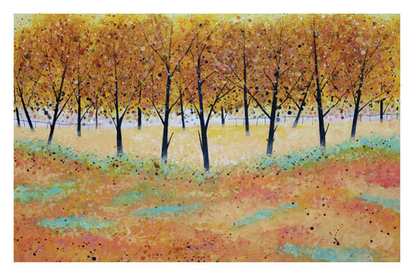 Wall Art - Digital Art - Trees Vi by Stuart Roy